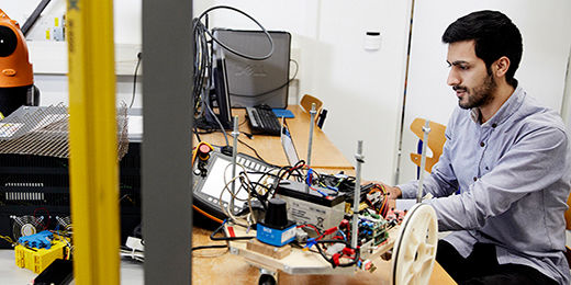 MSc in Engineering - Robot Systems (Advanced Robotics Technology/Drones and Autonomous Systems)
